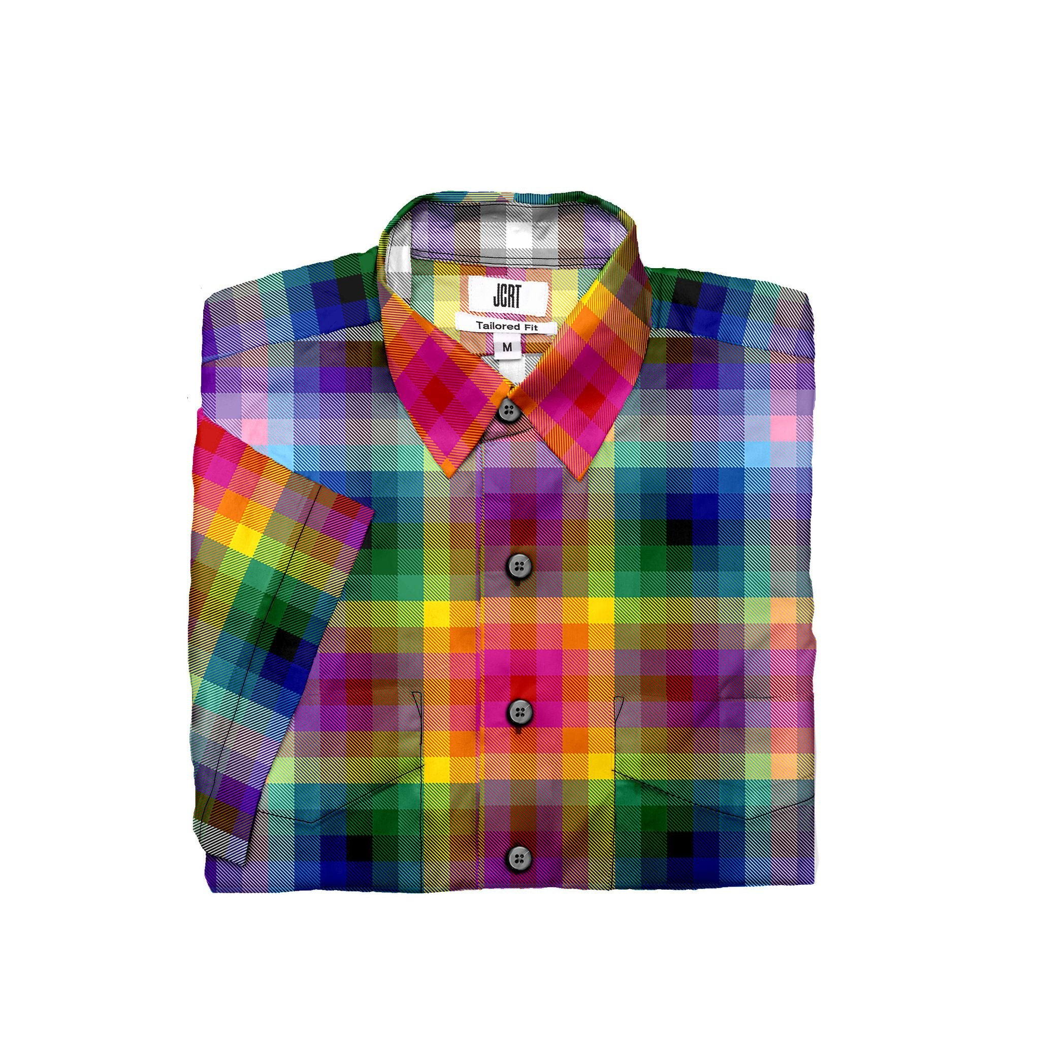 The 2020 Pride Plaid Short Sleeve Shirt
