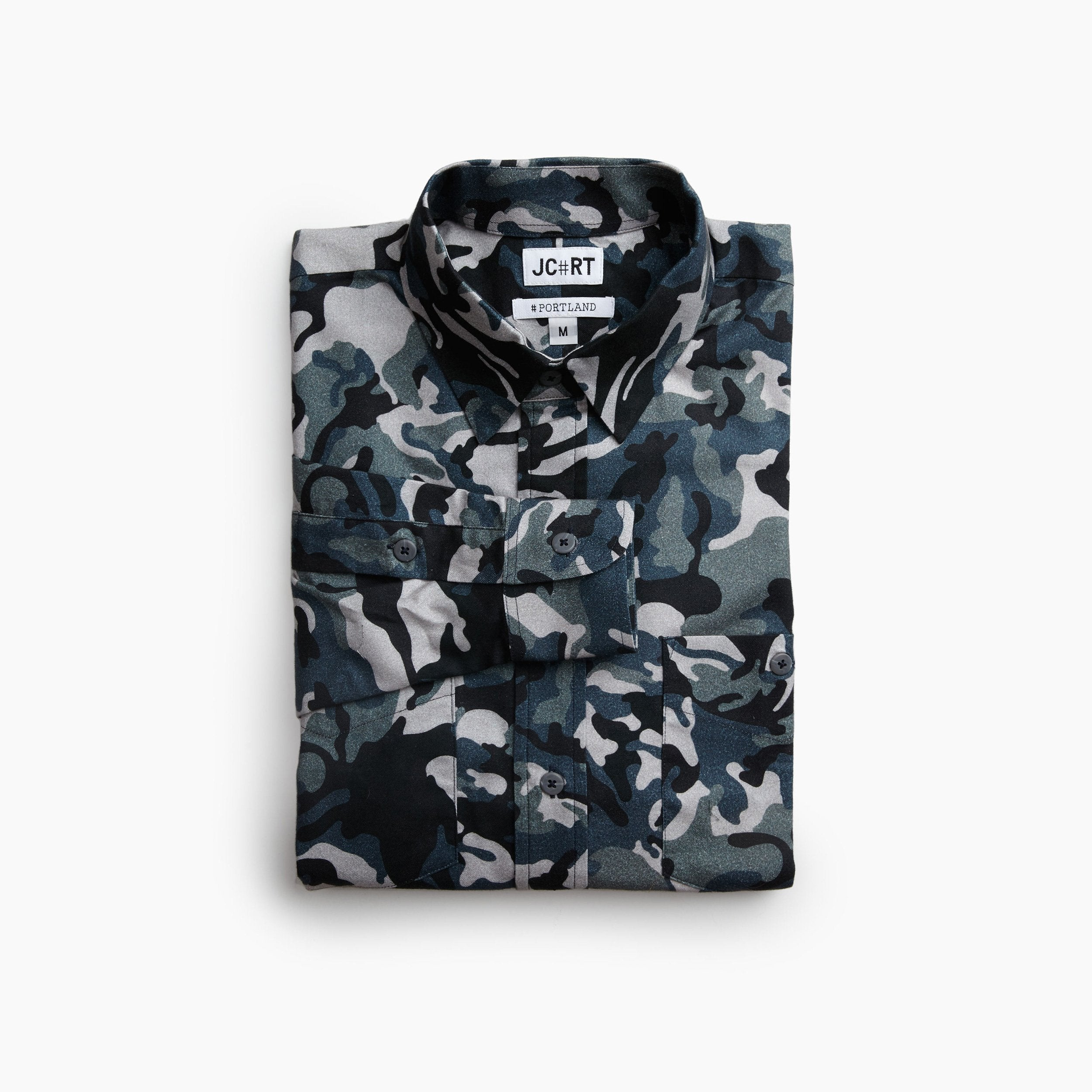 The Greek Army Special Forces Camouflage Flannel