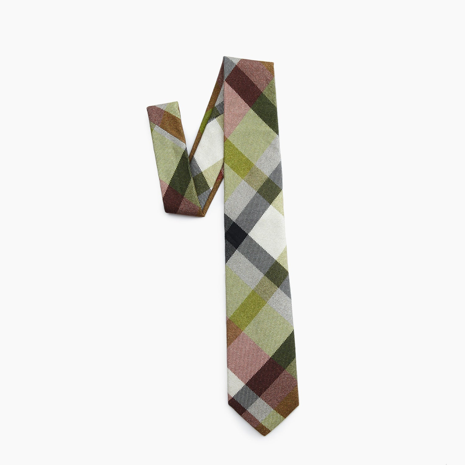 Self Tipped Tie | The Bulgarian Armed Forces Plaid