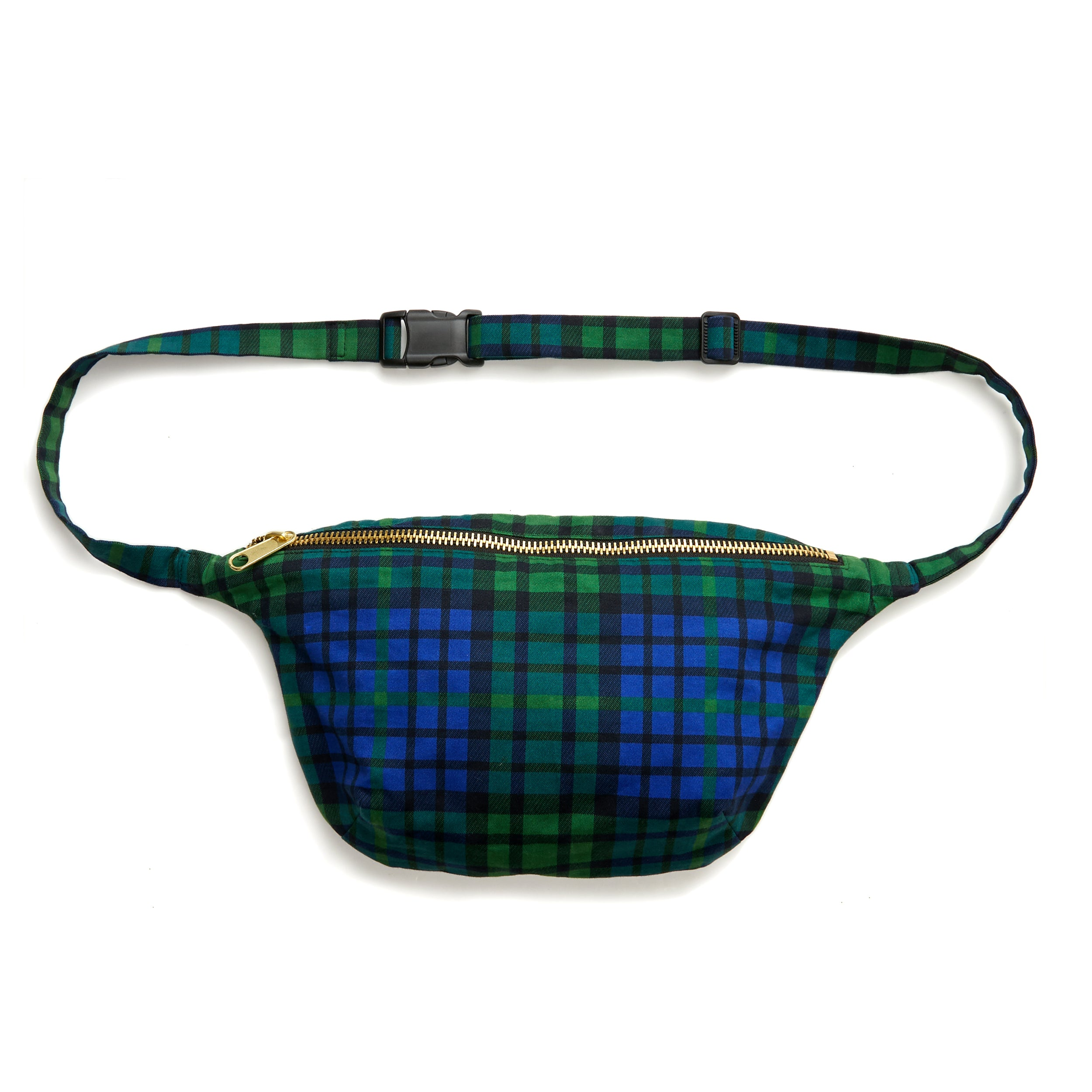 The Kumar Plaid Sling Bag