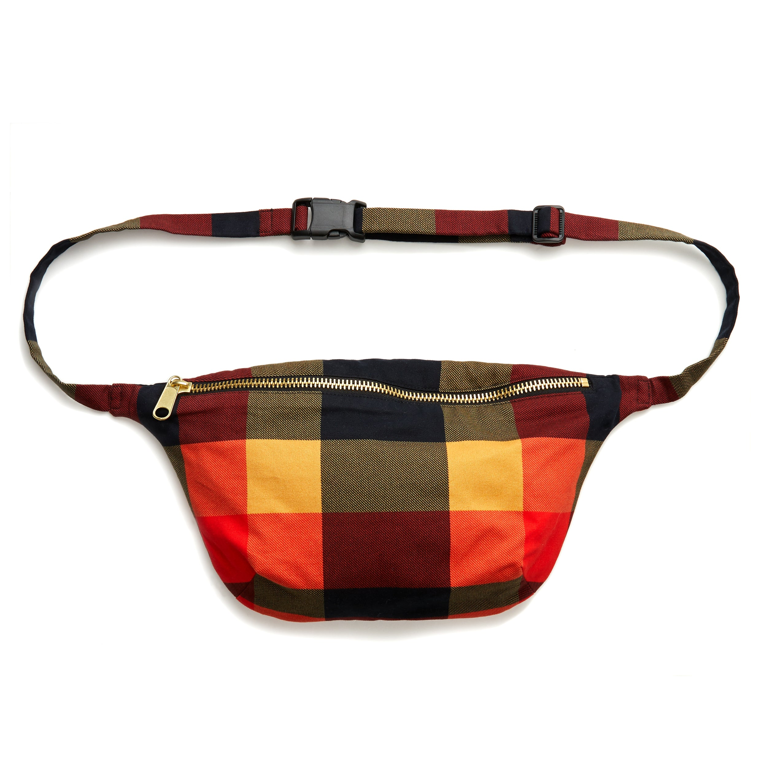 The 1984 Plaid Sling Bag