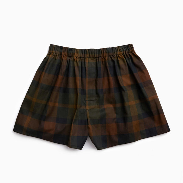 The Camouflage Flannel Boxers