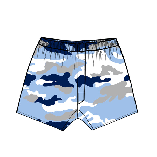 The Tar Heels Camouflage Plaid Boxer