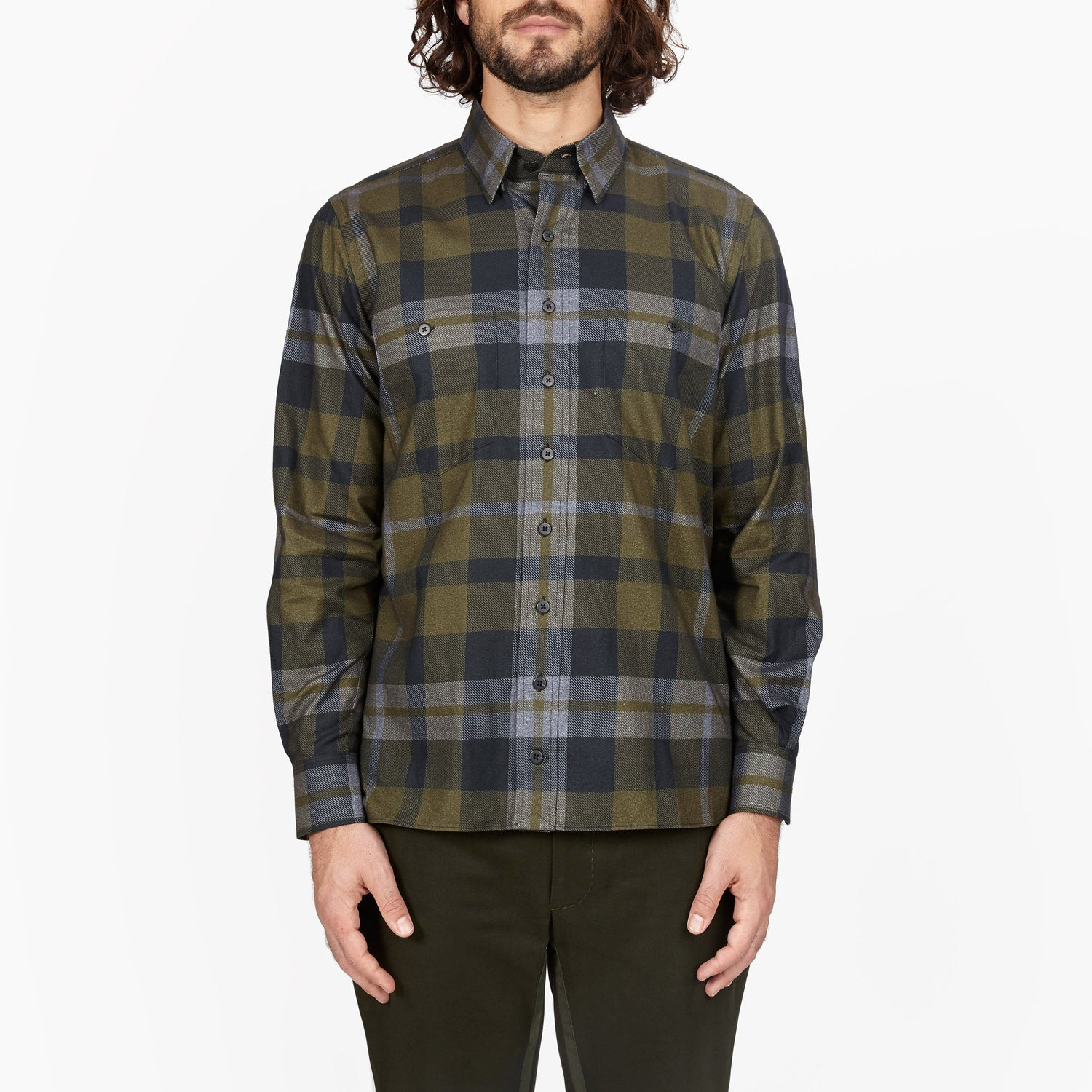 The Fort Flannel Plaid Shirt