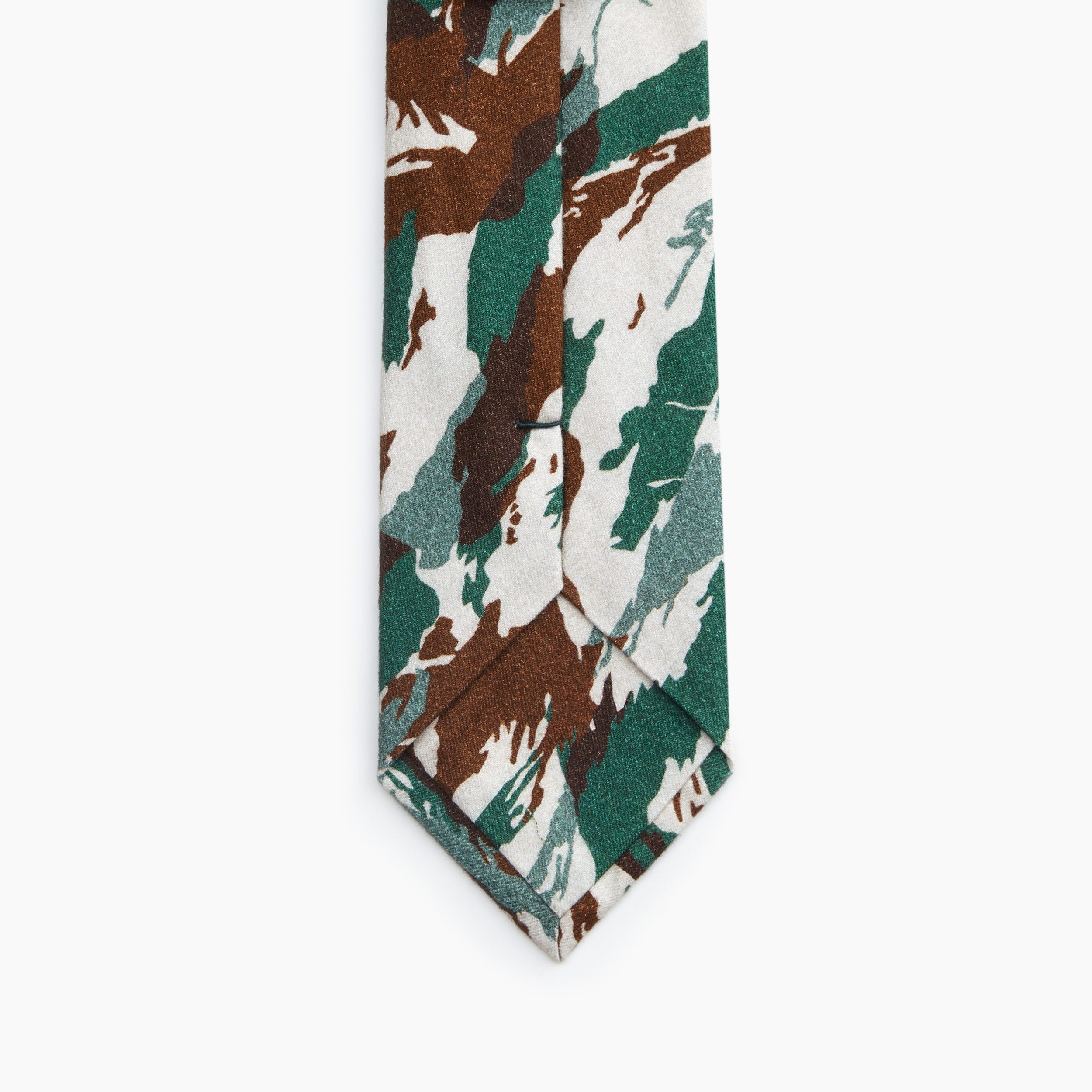 Self Tipped Tie | The Hungary Desert Camo Image