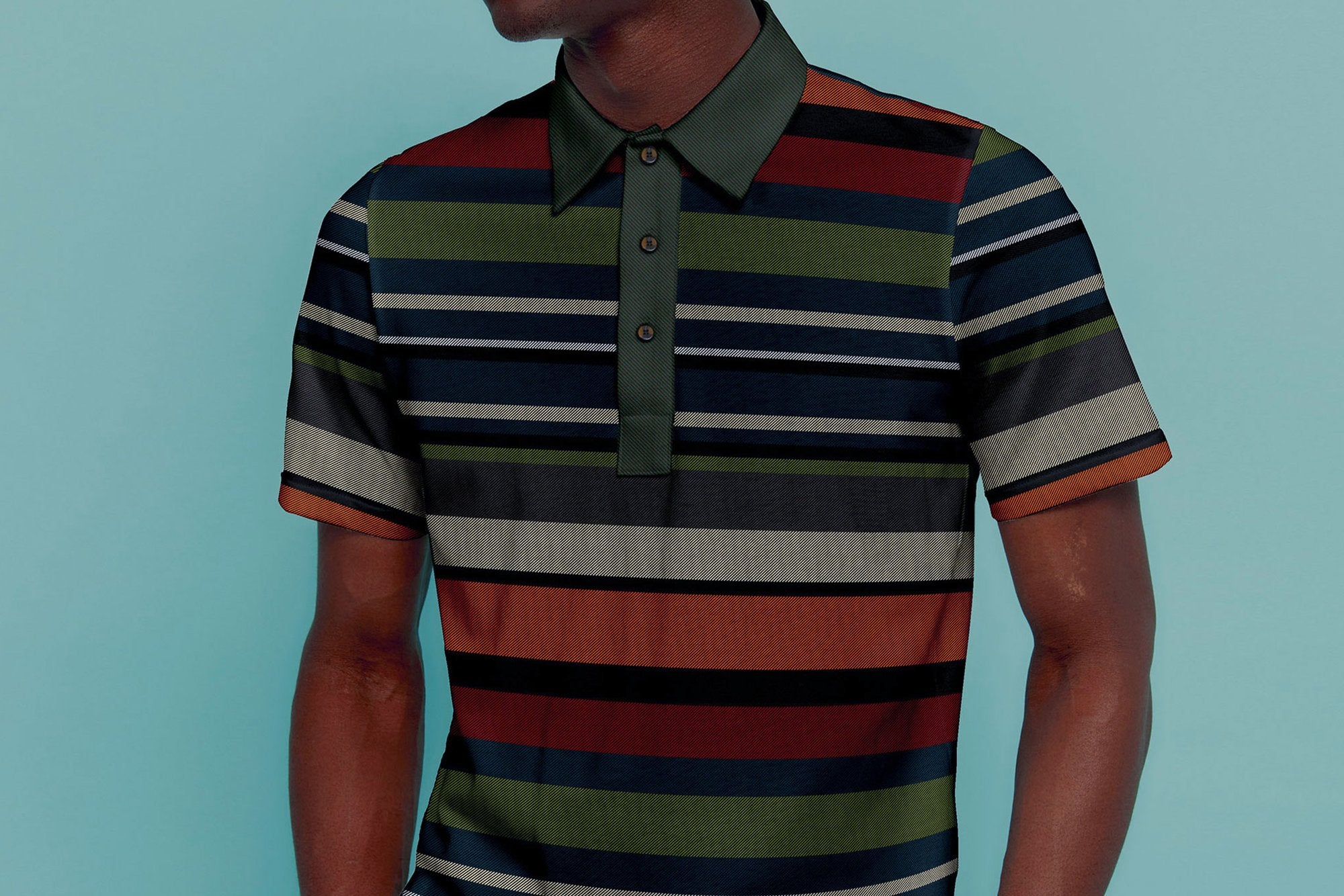 THE RED, BLACK + GREEN PLAID