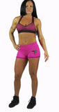 Fuchsia Thunder Short