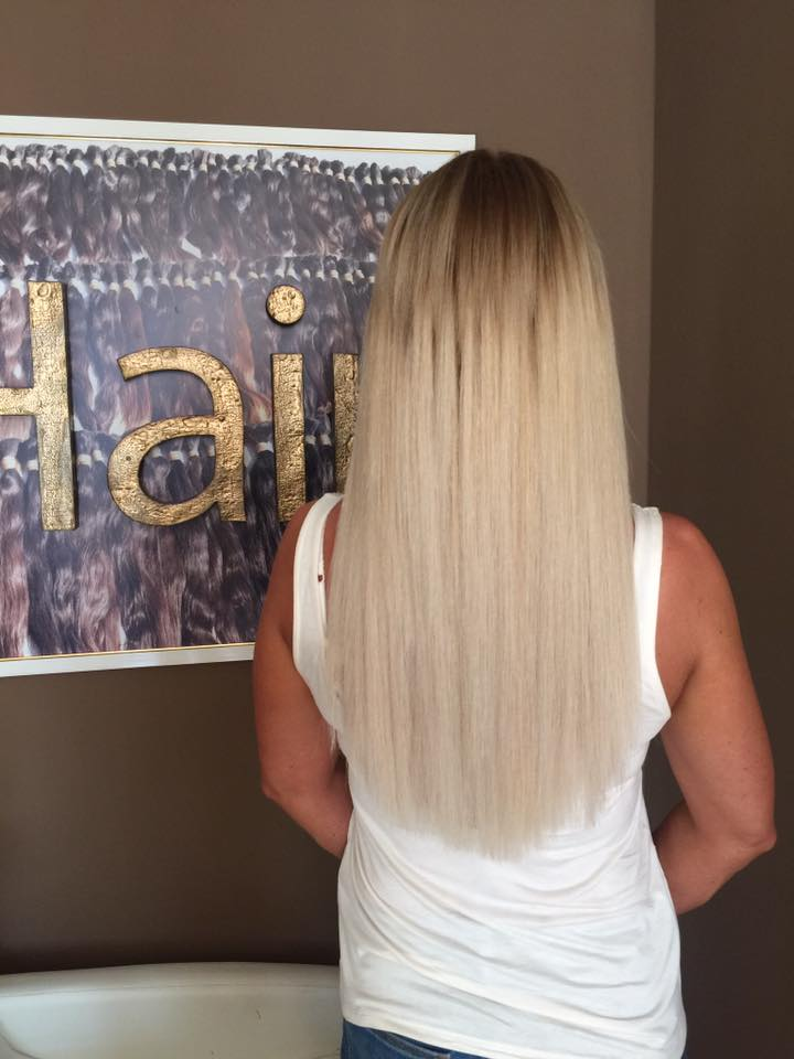 Hair extensions #61 - one head ♥ luxury