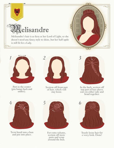 Melisandre hair extensions