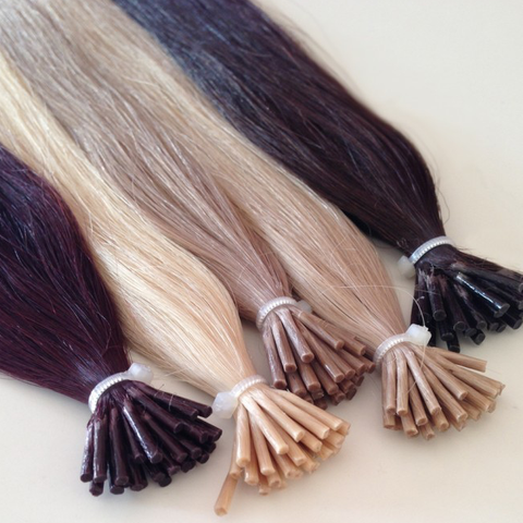 Pre bonded hair - I tip - 100 grams (3.5oz) ♥ handmade ♥ luxury