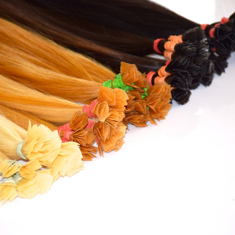 Flat tip - Pre bonded hair - 10 grams (0.35oz) ♥ handmade ♥ luxury - iHair Extensions - 1