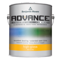 Benjamin Moore ADVANCE®<br>Waterborne Interior Alkyd<br>High Gloss