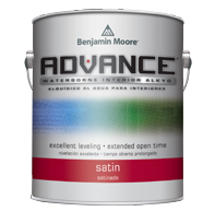 Benjamin Moore ADVANCE®<br>Waterborne Interior Alkyd<br>Satin