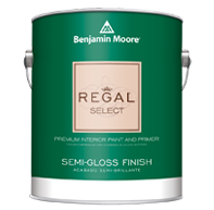 Benjamin Moore Regal Select<br>Semi Gloss