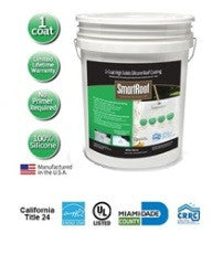 SmartRoof™ Premium 1-Coat High Solids Silicone Roof Coating