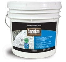 SmartRoof™ Silicone Fibered Roof Mastic