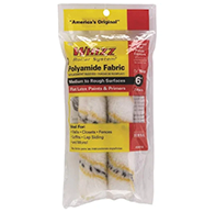 "Whizz 6"" Velour Roller Cover Refill 2 pack"