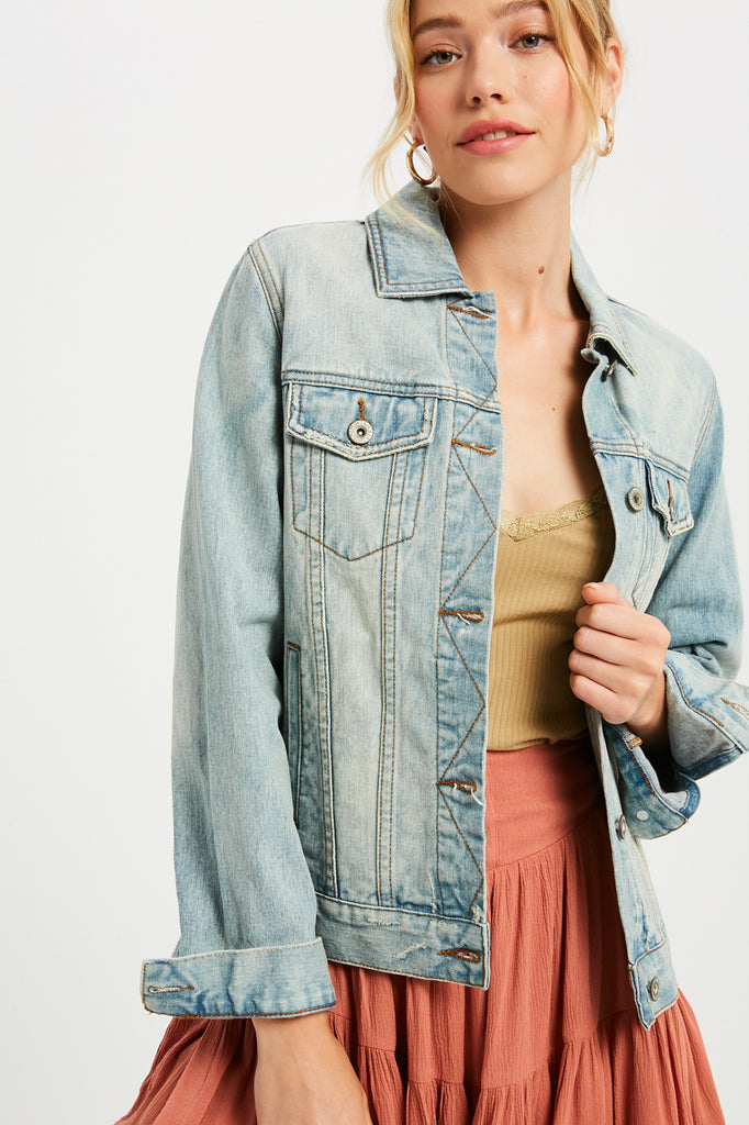 The Perfect Denim Jacket