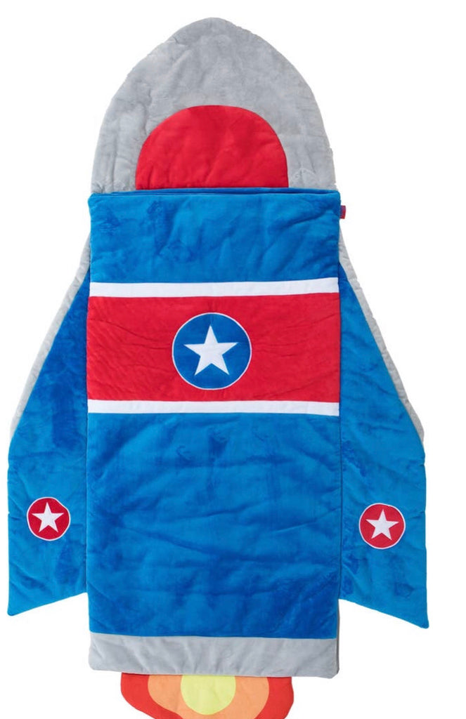 Rocket ship Sleeping Bag