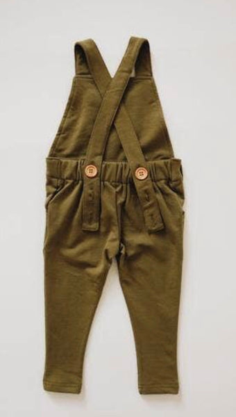 Long Overalls Olive