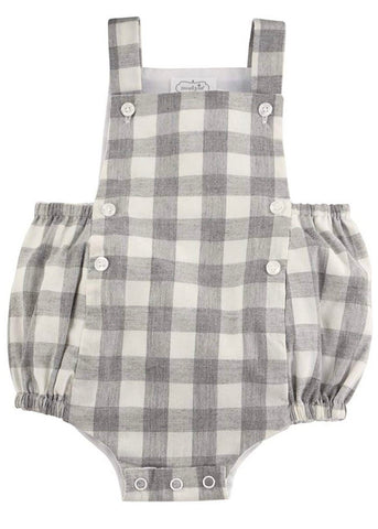 Gray Gingham Bubble