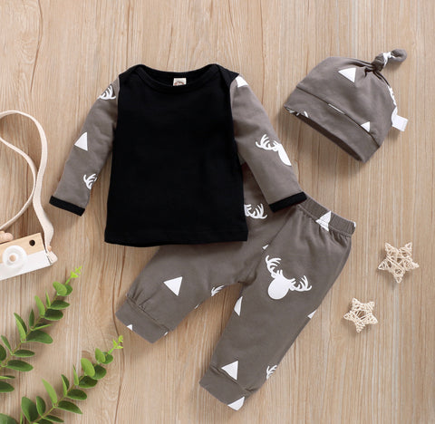 Deer 3 piece outfit