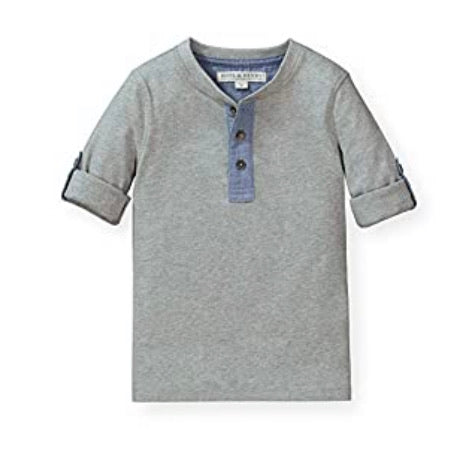 Henley Grey and Jean Tee