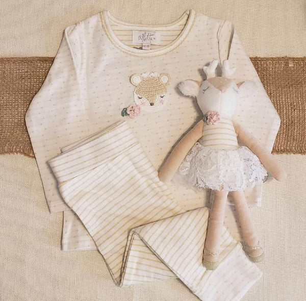 Crochet Fawn Play Set
