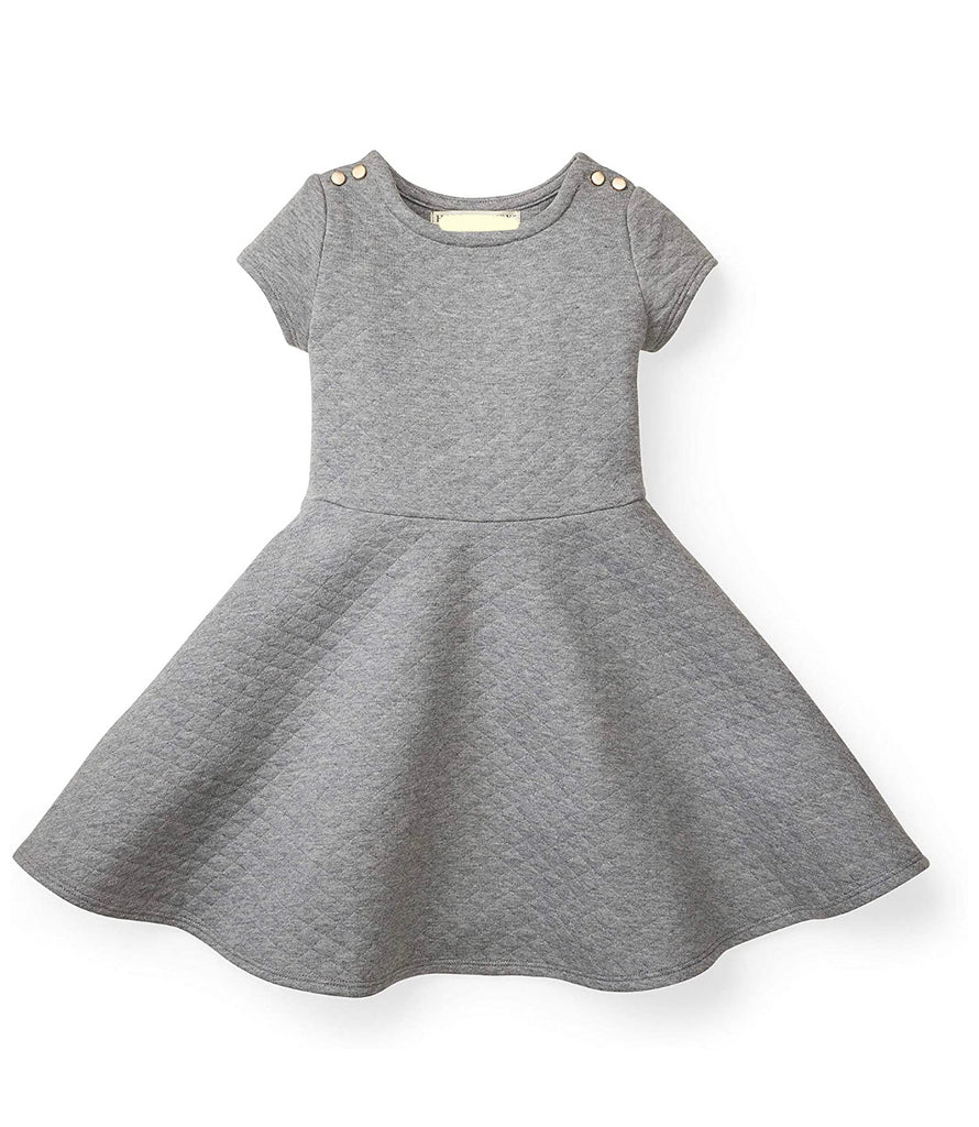 Grey Matelasse Dress