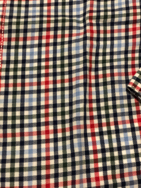 Mayoral Plaid Toddler Button Up