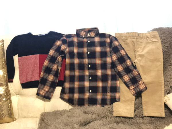 Boys Sweater and Pant set