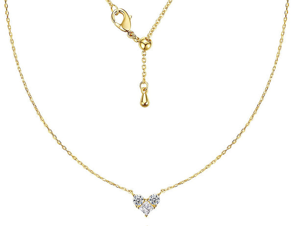 Dainty V necklace