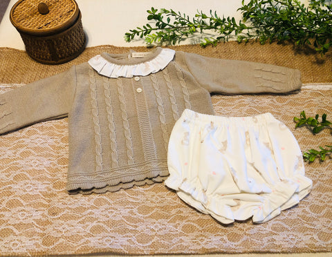Fox Hunt Sweater and Bloomers