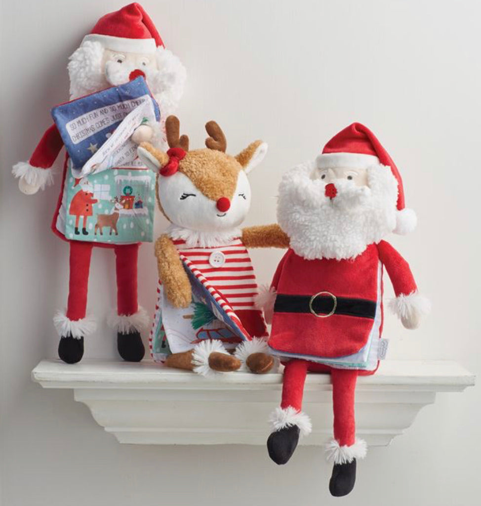 Plush Christmas Book Pals