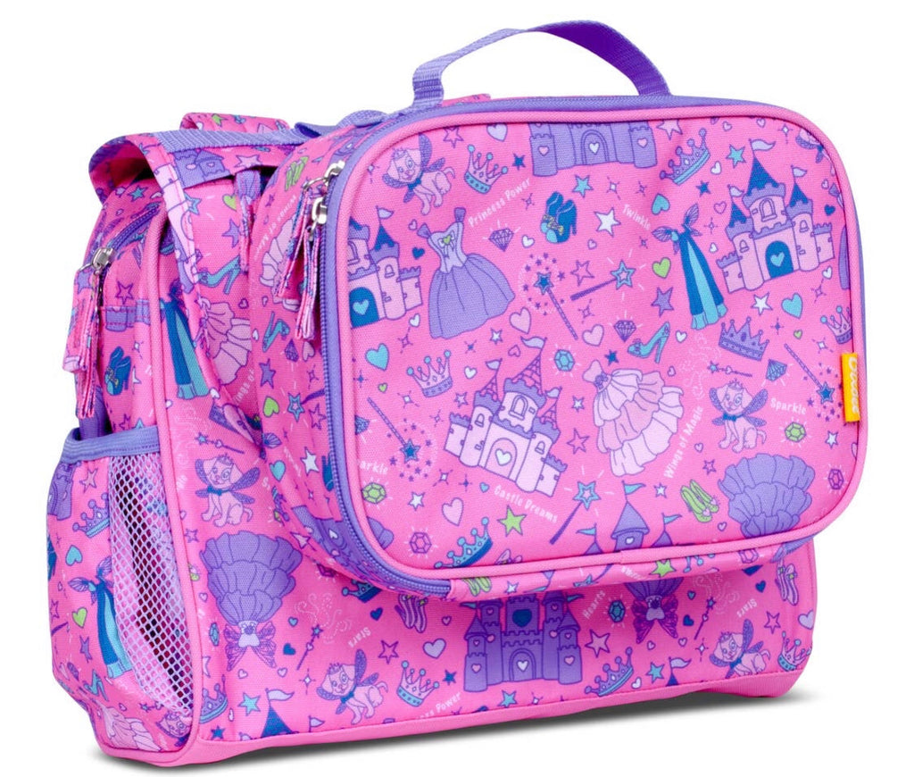 Princess Backpack, Lunchbox Combo, and Water Bottle
