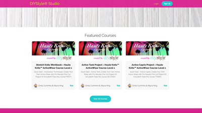 E-Courses at DIYStyle Studio
