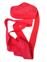 Neon Coral:: Fold Over Elastic-5 Yard Pack - Haute Knits by DIYStyle