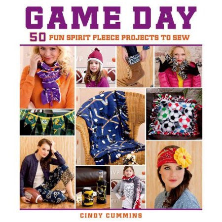 Game Day: 50 Fun Spirit Fleece Projects To Sew - Haute Knits by DIYStyle