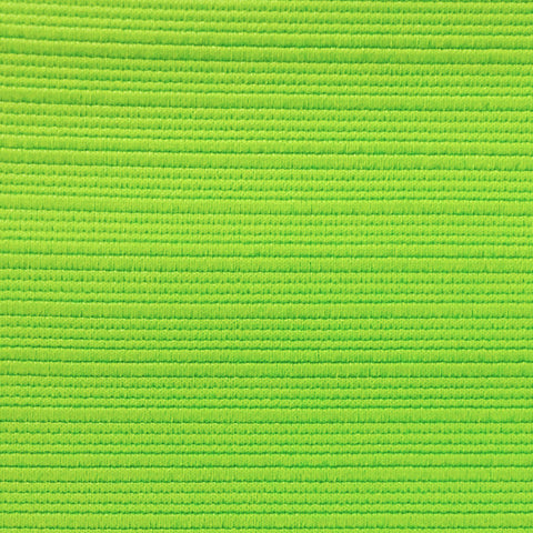 Activewear Spandex Knit Fabric Lime Ottoman-1 yard pack - Haute Knits by DIYStyle