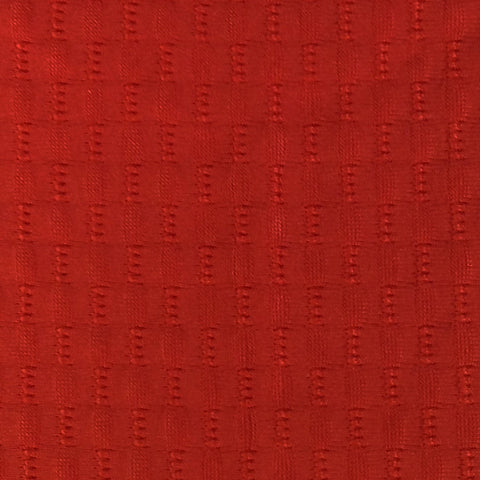 Activewear Spandex Knit Fabric Red Textured -1 yard pack - Haute Knits by DIYStyle