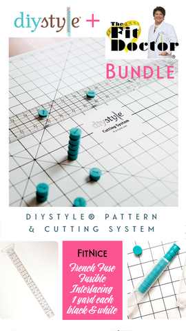 FitNice + DIYStyle® Pattern and Cutting System Bundle! - Haute Knits by DIYStyle