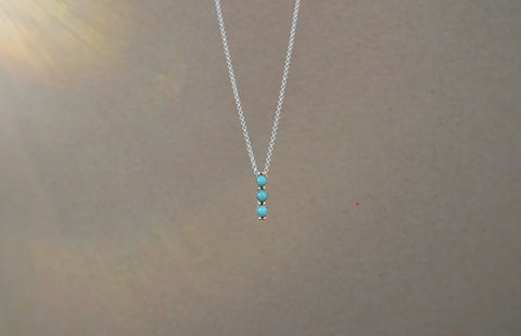 Turquoise Family Necklace
