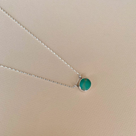 Royston Turquoise Necklace 18""