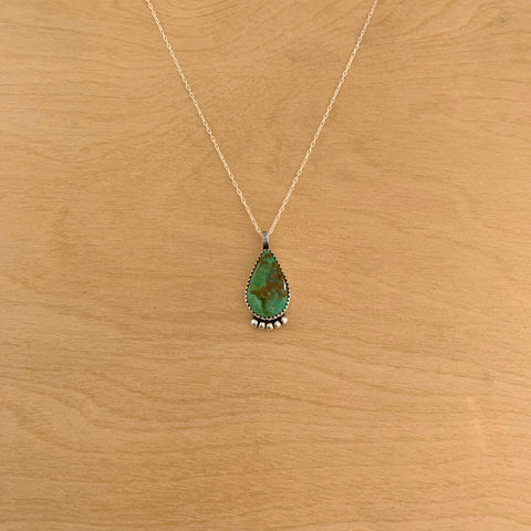 Ceremonial Turquoise Necklace 16""