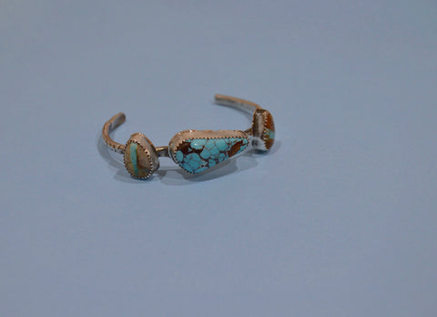 Rustic Royston Turquoise Cuff
