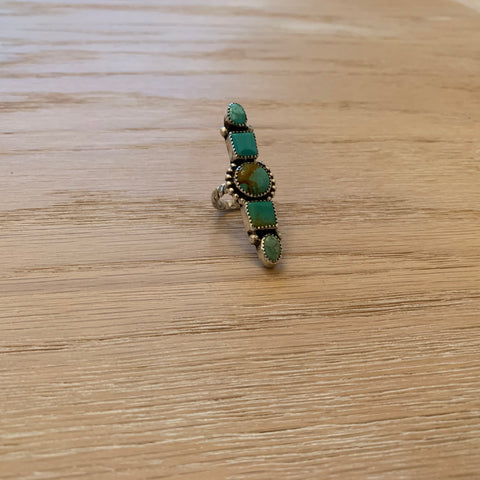 Royston and Kingman Turquoise Ring (size 7)