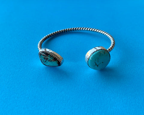 Carico Lake and Royston Turquoise Cuff