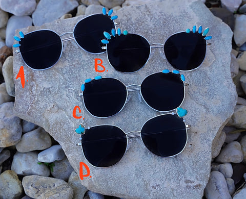 Kingman Turquoise Polarized Sunglasses