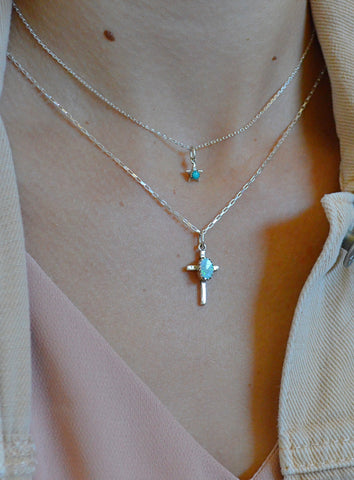 Carico Lake Turquoise Star Necklace