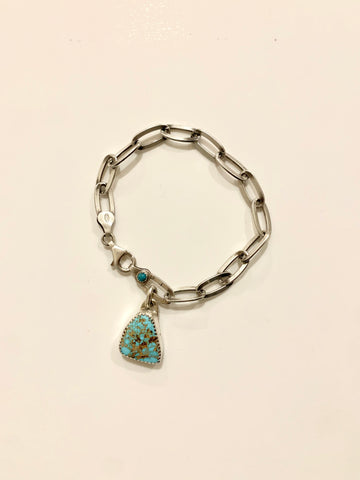 Turquoise Bulky Chain Bracelet